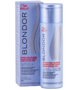Wella Professional Blondor Extra Cool Blondes balinošais pulveris