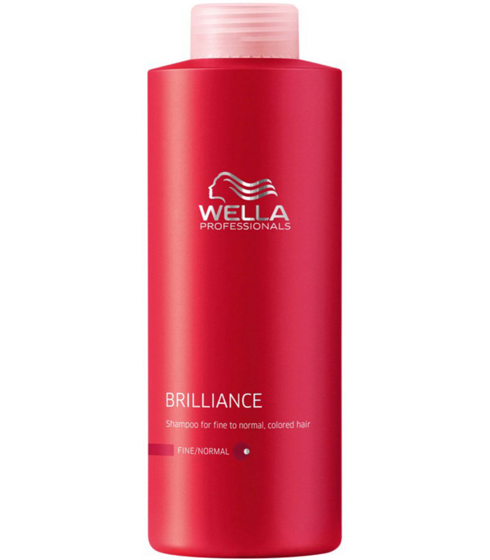 Wella professionals brilliance fine shampoo 500ml 4hair lv - Wella salon professional hair products ...