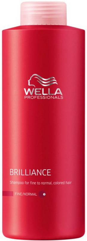 wella professionals brilliance fine shampoo 500ml 4hair lv. Black Bedroom Furniture Sets. Home Design Ideas