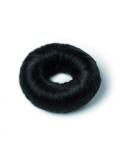 Черный синтетический валик для прически (маленький)