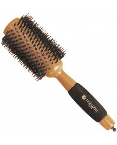 "Hairway ""Helix"" apaļa koka matu suka, 65mm"