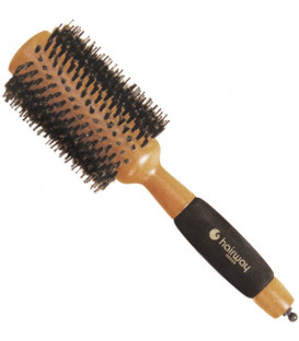 "Hairway ""Helix"" round wooden brush, 65mm"