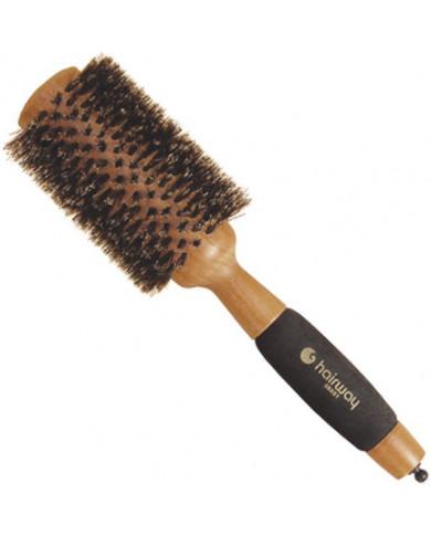 "Hairway ""Gold Wood"" apaļa koka matu suka, 65mm"