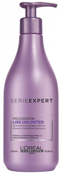 L Oreal Professionnel Serie Expert Liss Unlimited ProKeratin shampoo  (500ml) - 4HAIR.LV 7c2b7389ac0