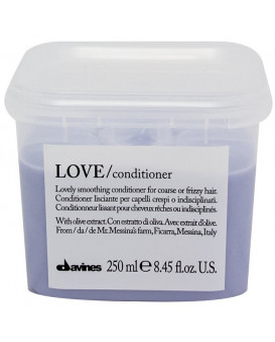 Davines Essential Haircare LOVE/smoothing kondicionieris (250ml)