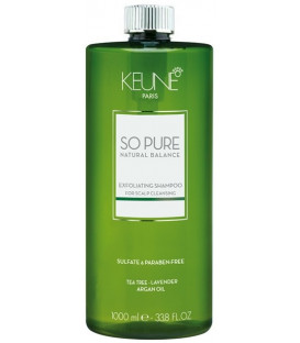 Keune SO PURE Exfoliating šampūns (1000ml)