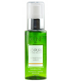 Keune SO PURE Defrizz Shine Serum serums