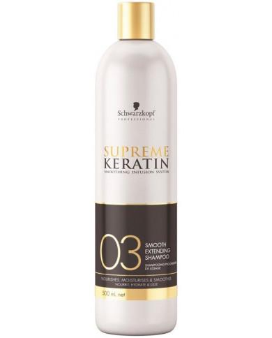 Schwarzkopf Professional Supreme Keratin nogludinošs šampūns (500ml)