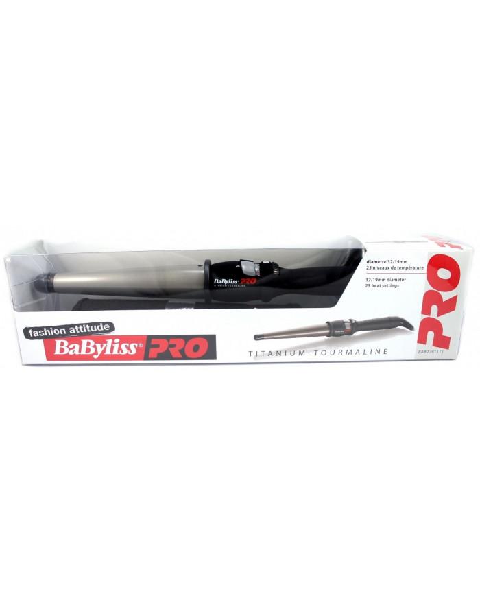 BaByliss PRO Titanium Tourmaline BAB2281TTE koniskas lokšķēres