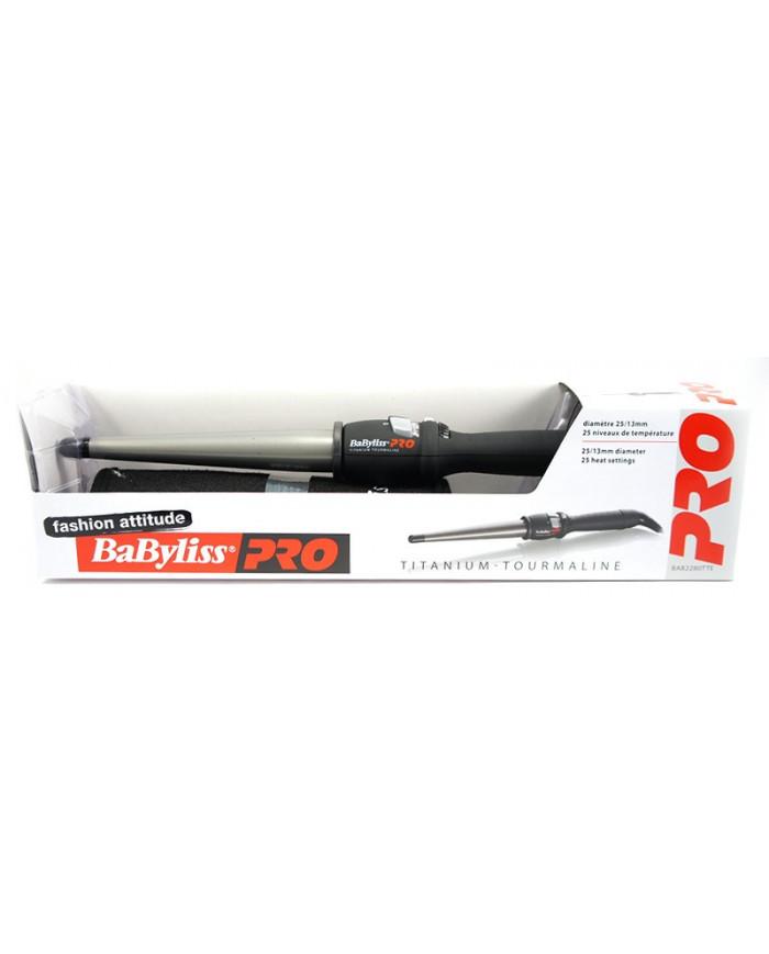 BaByliss PRO Titanium Tourmaline BAB2280TTE koniskas lokšķēres