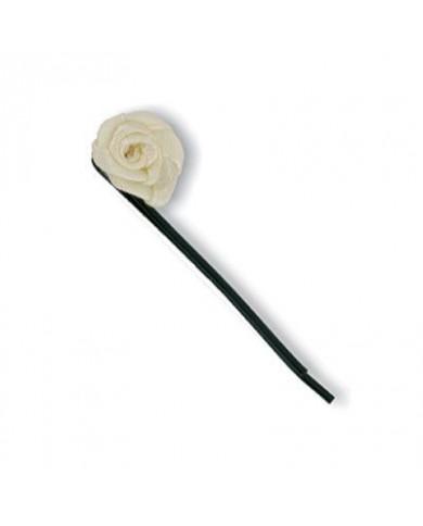 Melnas matu sprādzes ar rozīti