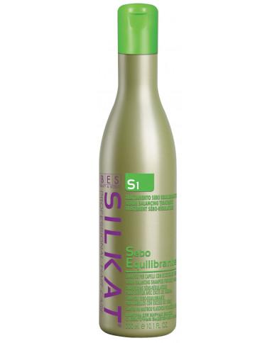 BES Silkat Sebo Equilibrante S1 šampūns (300ml)
