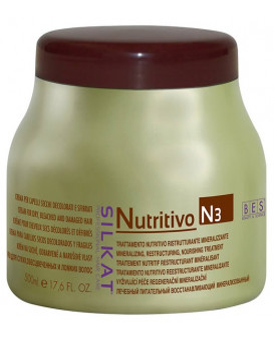 BES Silkat Nutritivo N3 maska (500ml)