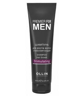 Ollin Professional Premier For Men Stimulating šampūns