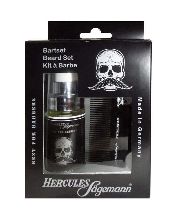 Hercules Sagemann Beard Set komplekts bārdai un ūsām