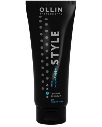 Ollin Professional Style гель мокрый эффект