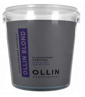 Ollin Professional Color lavender aroma bleach powder (500g)