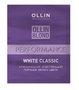Ollin Professional Performance balts balinošais pulveris (30g)
