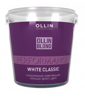 Ollin Professional Performance balts balinošais pulveris (500g)