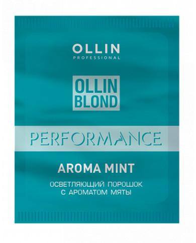 Ollin Professional Color balinošais pulveris ar mentola aromātu (30g)