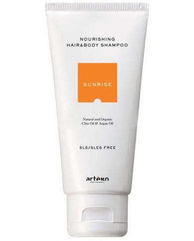Artego Sunrise питательный шампунь для тела и волос