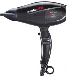 BaByliss PRO Vulcano Black hair dryer