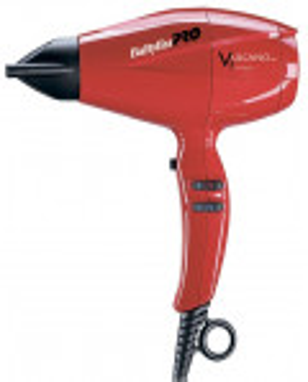 BaByliss PRO Vulcano Red фен для волос