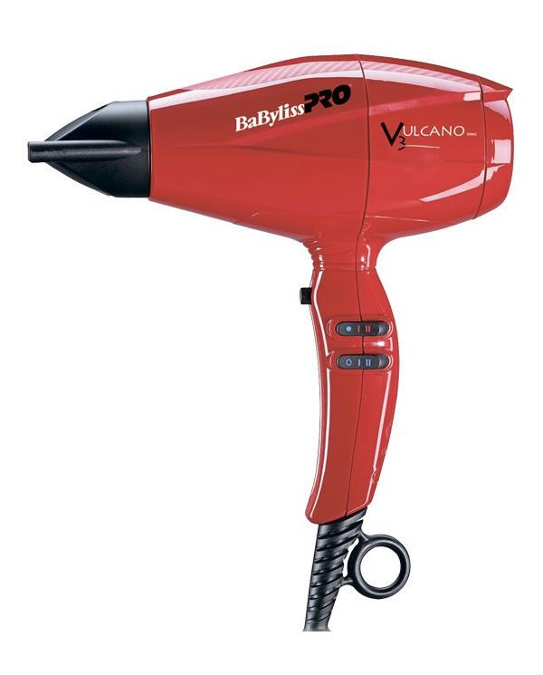 BaByliss PRO Vulcano Red hair dryer