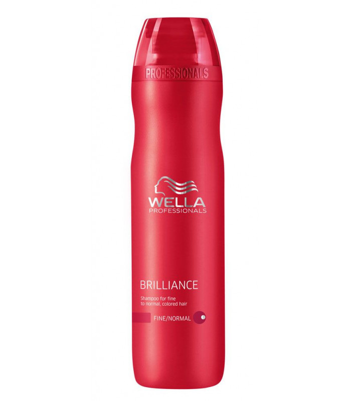Wella professionals brilliance fine shampoo 250ml 4hair lv - Wella salon professional hair products ...