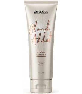 Indola Blond Addict shampoo (250ml)