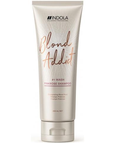 Indola Blond Addict PinkRose šampūns