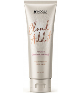 Indola Blond Addict PinkRose shampoo