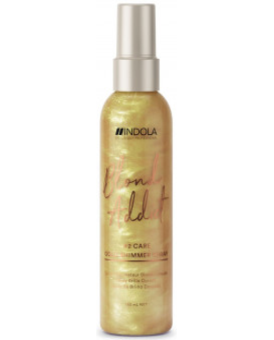 Indola Blond Addict zelta spīduma sprejs