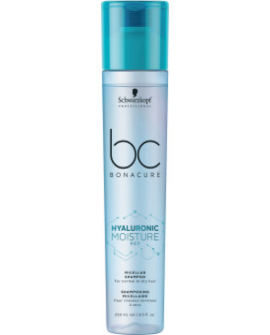 Schwarzkopf Professional Bonacure Hyaluronic Moisture Kick micelārais šampūns (250ml)