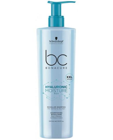 Schwarzkopf Professional Bonacure Hyaluronic Moisture Kick micelārais šampūns (500ml)