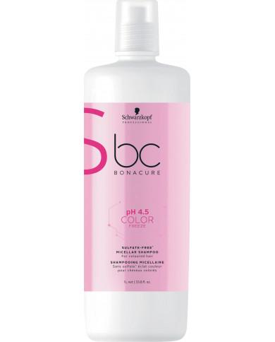 Schwarzkopf Professional Bonacure pH 4.5 Color Freeze šampūns bez sulfātiem (1000ml)