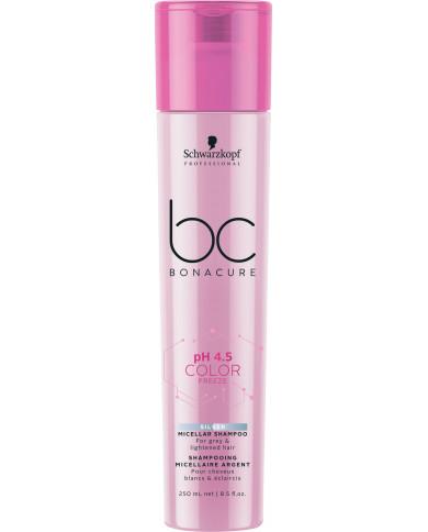Schwarzkopf Professional Bonacure pH 4.5 Color Freeze Silver šampūns (250ml)