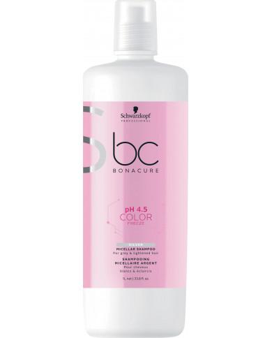 Schwarzkopf Professional Bonacure pH 4.5 Color Freeze Silver šampūns (1000ml)