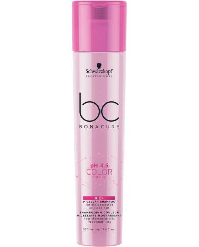 Schwarzkopf Professional Bonacure pH 4.5 Color Freeze Rich šampūns (250ml)