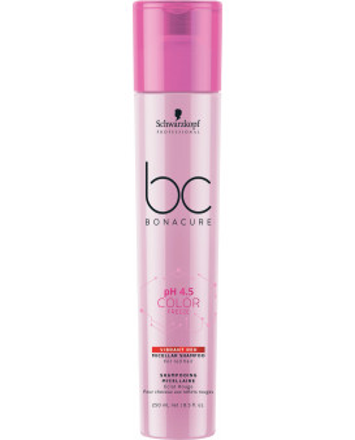 Schwarzkopf Professional Bonacure pH 4.5 Color Freeze Vibrant Red šampūns (250ml)