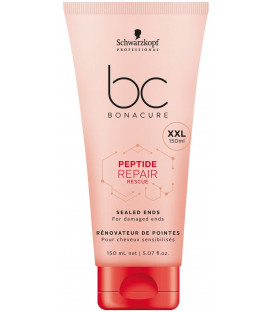 Schwarzkopf Professional Bonacure Peptide Repair Rescue Sealed Ends balzāms (150ml)
