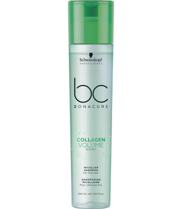 Schwarzkopf Professional Bonacure Collagen Volume Boost micelārais šampūns (250ml)