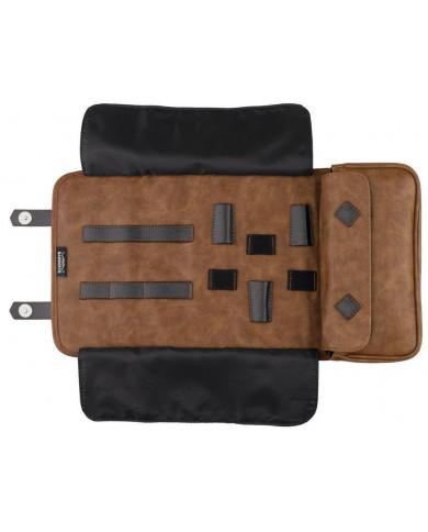 BARBURYS BUZZ barber pouch, brown