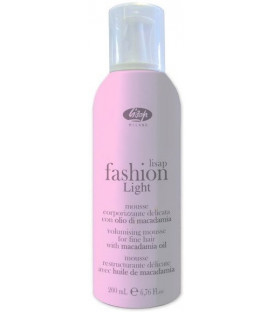 Lisap Milano Fashion Light Volumising Mousse apjoma putas