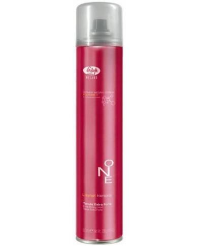 Lisap Milano Lisynet Hairspray One Extra Strong matu laka