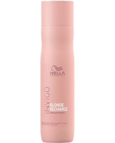 Wella Professionals Invigo Blonde Recharge Cool Blonde šampūns (250ml)