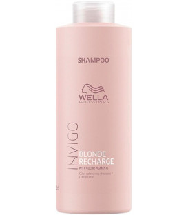 Wella Professionals Invigo Blonde Recharge Cool Blonde šampūns (1000ml)