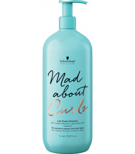 Schwarzkopf Professional Mad About Curls maz putojošs šampūns (1000ml)