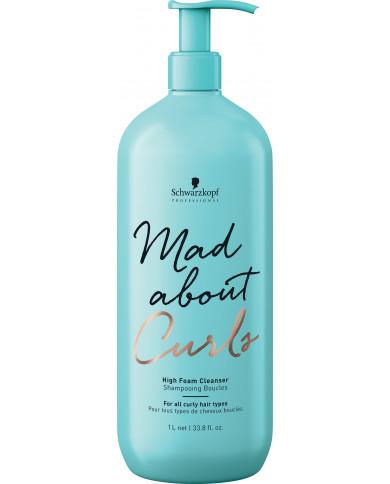 Schwarzkopf Professional Mad About Curls izteikti putojošs šampūns (1000ml)