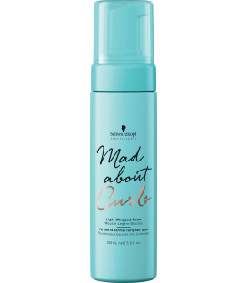 Schwarzkopf Professional Mad About Curls light whipped foam